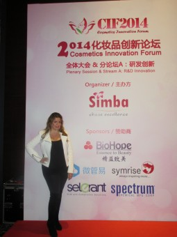 jeanine at cosmetics innovation forum