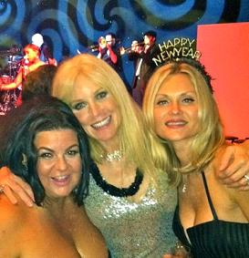 Jeanine Recckio, Erika Lipton & Natasha Muratov at Trump Mar-a-lago Palm Beach